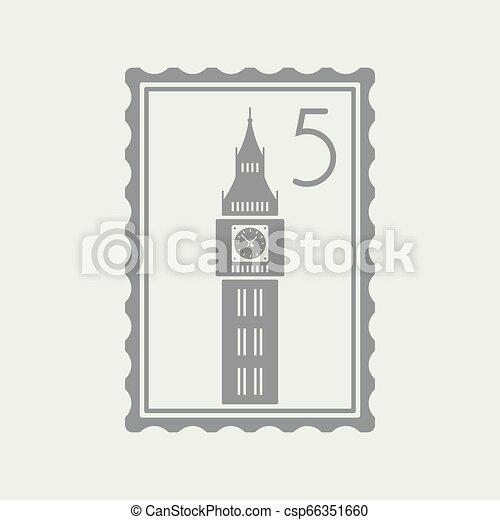 El icono del sello de Londres - csp66351660