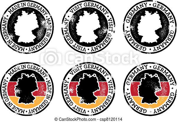 Estampillas alemanas - csp8120114