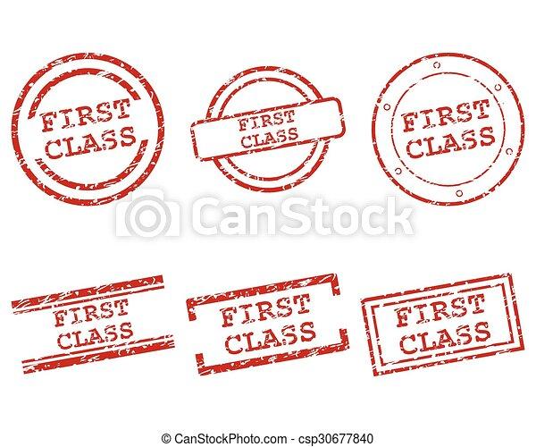 sellos de primera clase - csp30677840