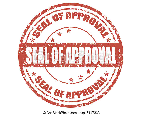 selo, approval-stamp - csp15147333