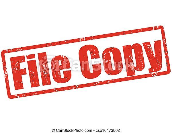 selo, cópia, arquivo - csp16473802