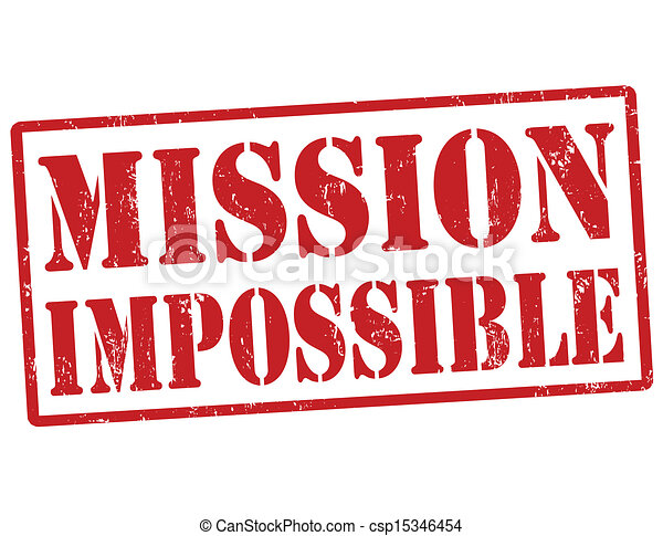 selo, impossível, missão - csp15346454