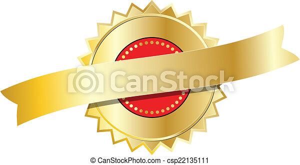 selo ouro - csp22135111