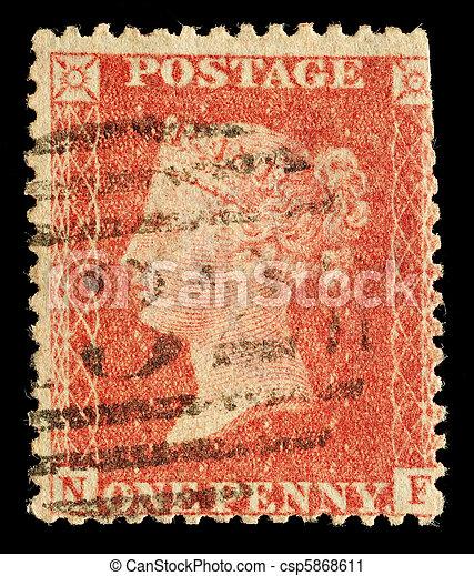 selo postal - csp5868611