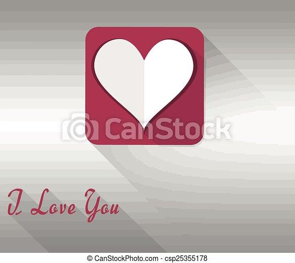 selo, tu, amor - csp25355178