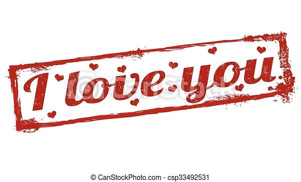 selo, tu, amor - csp33492531