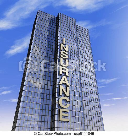 selskab, headquartered, forsikring - csp6111046