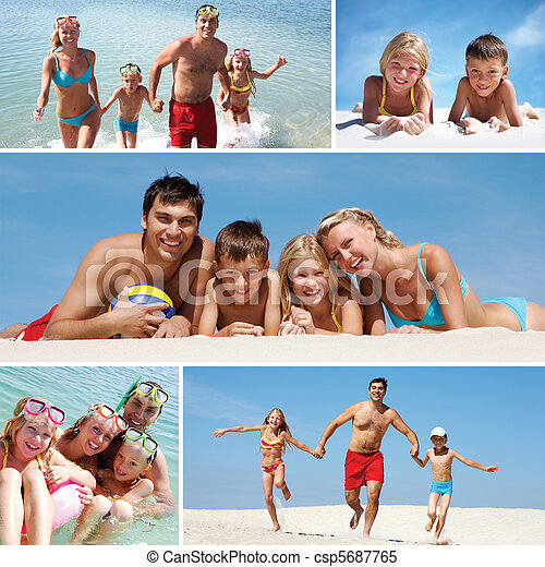 semester, familj - csp5687765