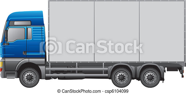 Semi-Trailer Truck - csp6104099