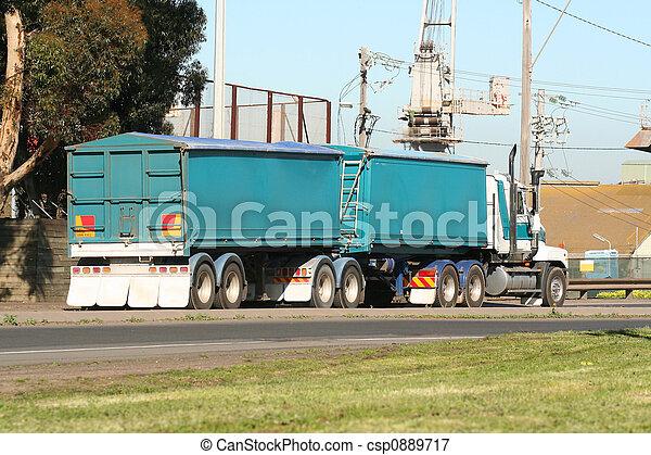 Semi truck - csp0889717