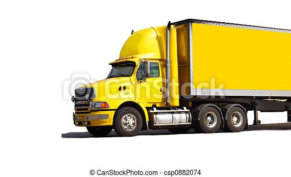 Semi truck - csp0882074