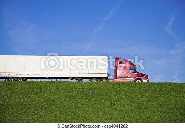 Semi Truck  - csp4041262