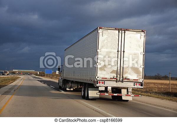 Semi truck - csp8166599