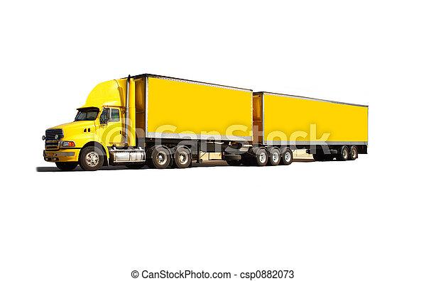 Semi truck - csp0882073
