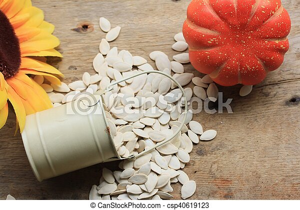 Semillas de calabaza - csp40619123