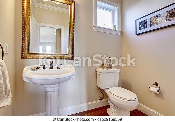 Semplice bagno bianco walls bagno oro semplice - Rubinetteria bagno bianco oro ...