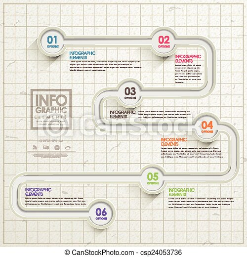 semplicità, sagoma, infographic, disegno - csp24053736
