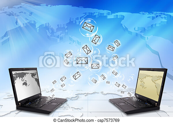 send email envelope in a laptop - csp7573769