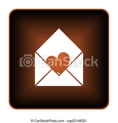 Send love icon - csp23148321