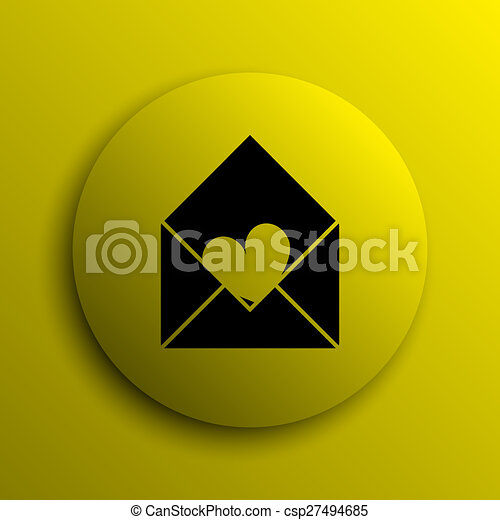 Send love icon - csp27494685