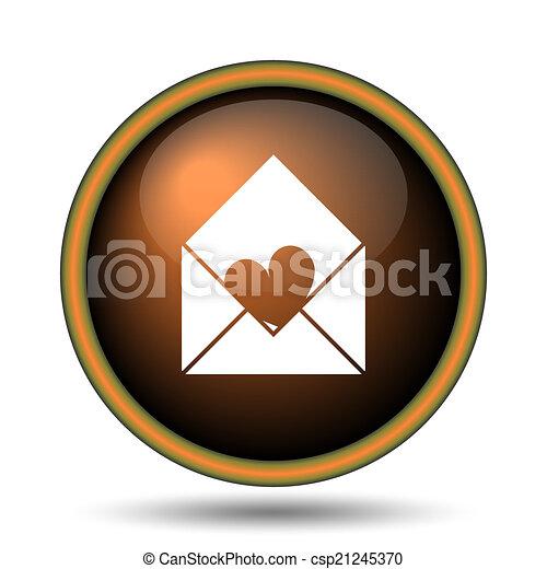 Send love icon - csp21245370