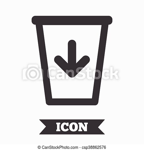 Large Size Of Trash Can Rubber Seal St Watermark Icon Symbol Inside Circle Frame With Grunge