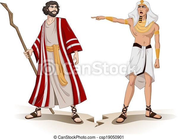El faraón envía mohos para la Pascua - csp19050901