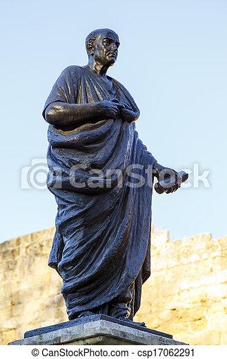 Lucius annaeus seneca, conocida como Seneca la más joven, cordoba, spain - csp17062291