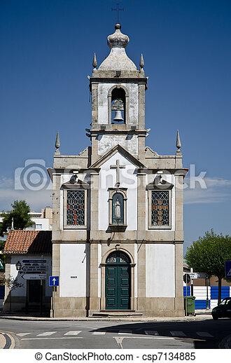 Senhora da Graça chapel - csp7134885
