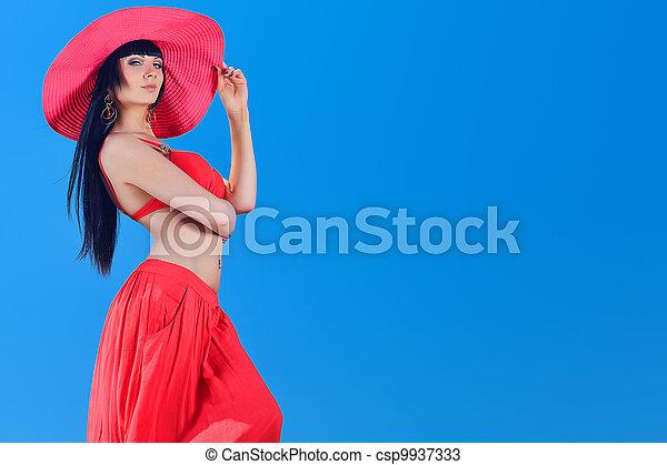 senhora, sensual - csp9937333