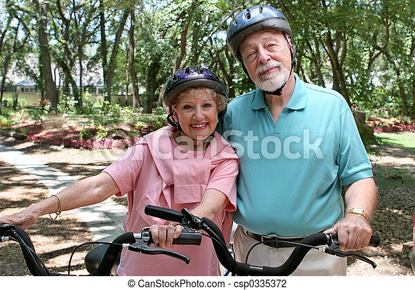 Senior Bikers - csp0335372