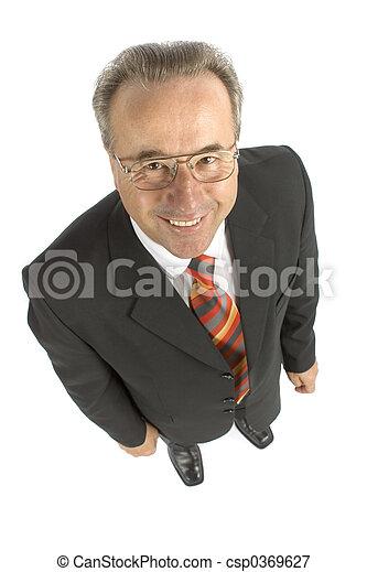 senior businessman - csp0369627
