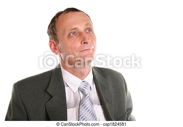 senior businessman - csp1824581