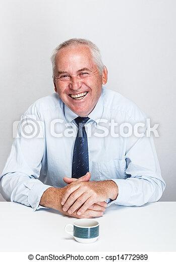 Senior businessman  - csp14772989