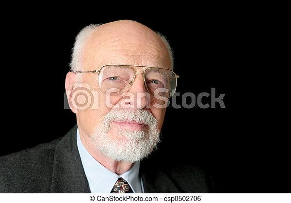 Senior Businessman - csp0502706