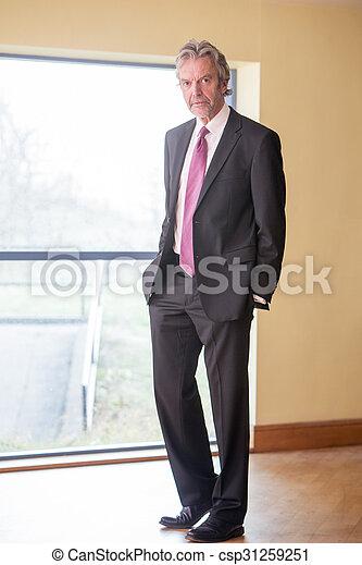 Senior businessman - csp31259251