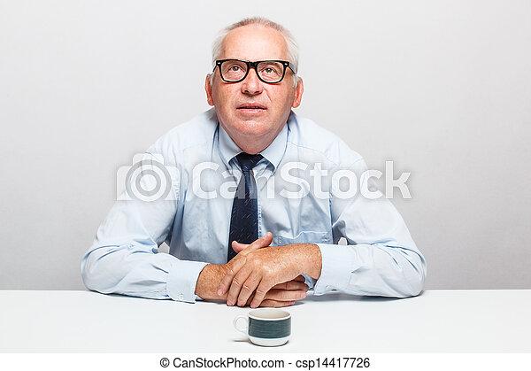 Senior businessman - csp14417726