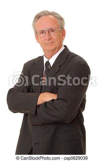 Senior Businessman  - csp0629039