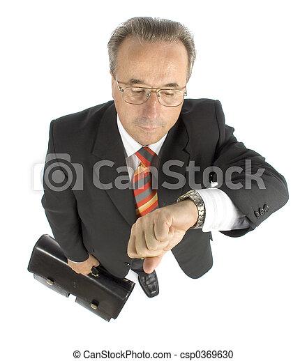 senior businessman - csp0369630