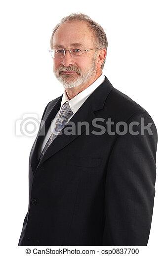 Senior Businessman - csp0837700