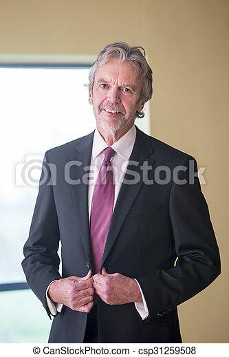 Senior businessman - csp31259508
