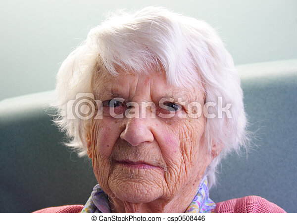 Senior citizen  - csp0508446