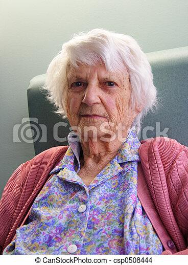 Senior citizen  - csp0508444