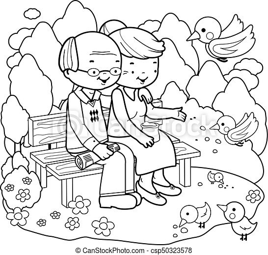 man and woman coloring pages - photo#35