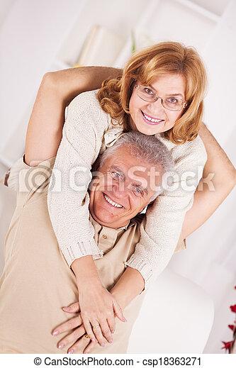 Senior couple - csp18363271