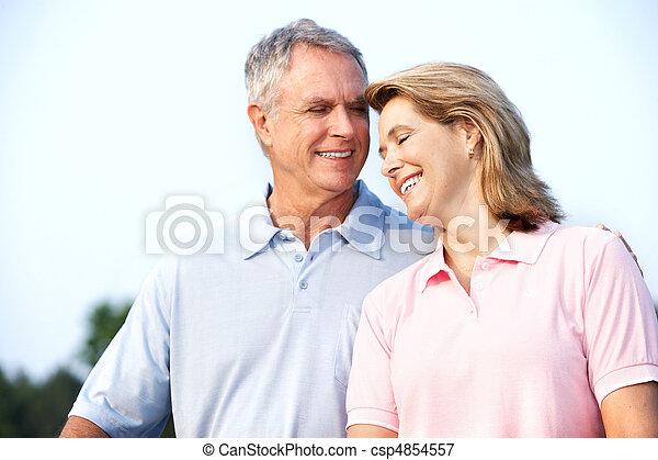 senior couple - csp4854557