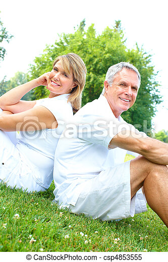 senior couple - csp4853555