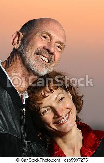Senior couple - csp5997275