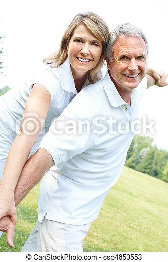 senior couple - csp4853553