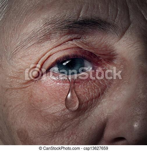 Senior Depression - csp13627659